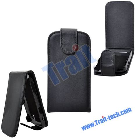 Leather Pda Kayu For Blackberry 9900 Dakota flip magnet closure leather for blackberry bold 9900