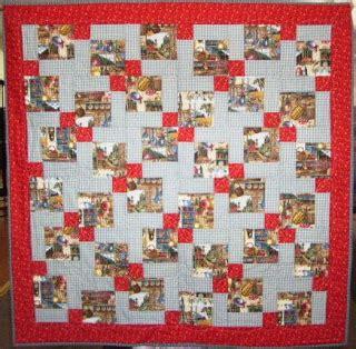 Split Nine Patch Quilt Pattern by Quilts More Split Nine Patch Windmills