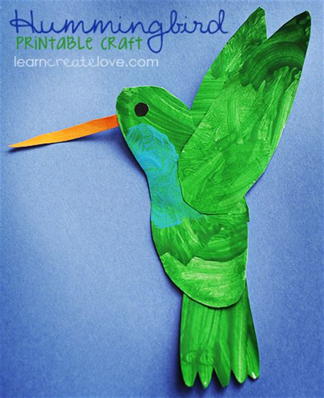 hummingbird craft