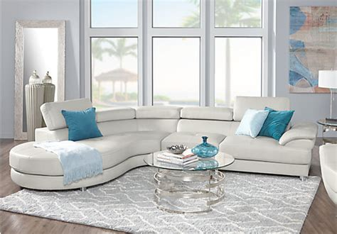 Sofia Vergara Living Room Set Sofia Vergara Cassinella 5 Pc Left Sectional Living Room Living Room Sets Beige