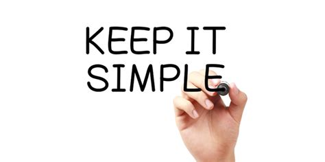 Keeping Things Small by The Importance Of Keeping It Simple And How To Do It