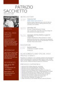 Chef Template Resource by Executive Chef Resume Sles Visualcv Resume Sles