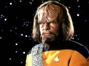 Michael dorn as worf in star trek the next generation