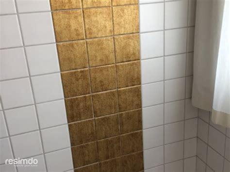 bad fliesen folie badfliesen versch 246 nern fliesenfolie gold resimdo