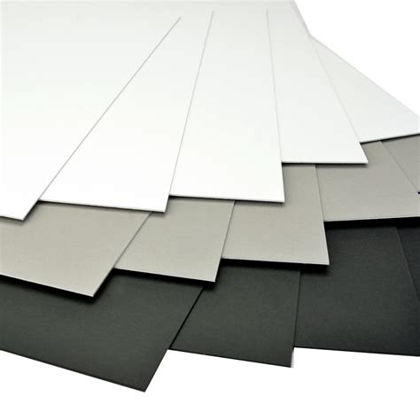 Mat Boards by Arista Mat Board 17x22 4 Ply Black White 10 Pack