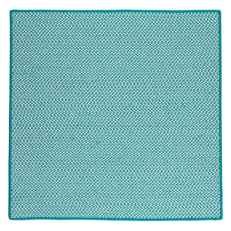 home decorators outdoor rugs home decorators collection sadie turquoise 10 ft x 10 ft