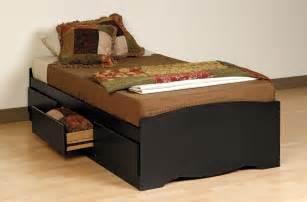Platform Beds San Diego Prepac Black Platform Storage Bed 3 Drawers