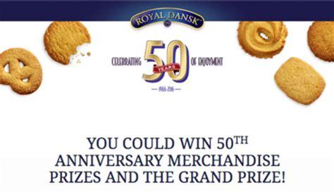 Royal Dansk Sweepstakes - royal dansk 50th anniversary sweepstakes sun sweeps