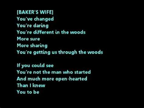 into the best part lyrics it takes two into the woods male part only karaoke