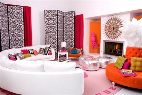 Design Colors For Living Room by Pink And Orange Living Room Design Ideas Pictures