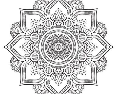 imagenes de mandalas florales mandalas f 225 ciles 010 mandalas para colorear