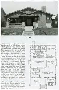 1910 house plans 1910 arts and crafts bungalow house plans