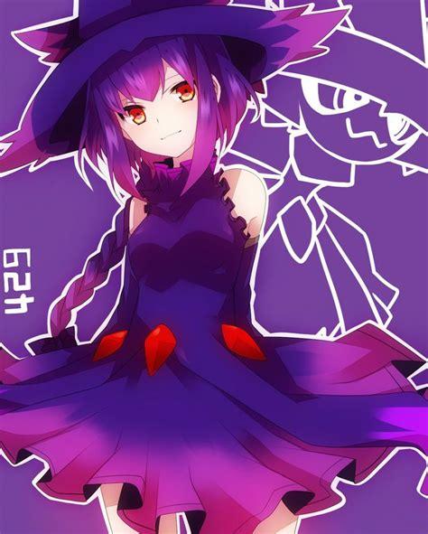 imagenes de niñas kawaii mismagius gijinka anime comics pinterest