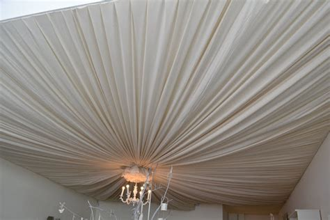 draping fabric from ceiling bedroom if i knew you were coming i d have baked a cake ceiling