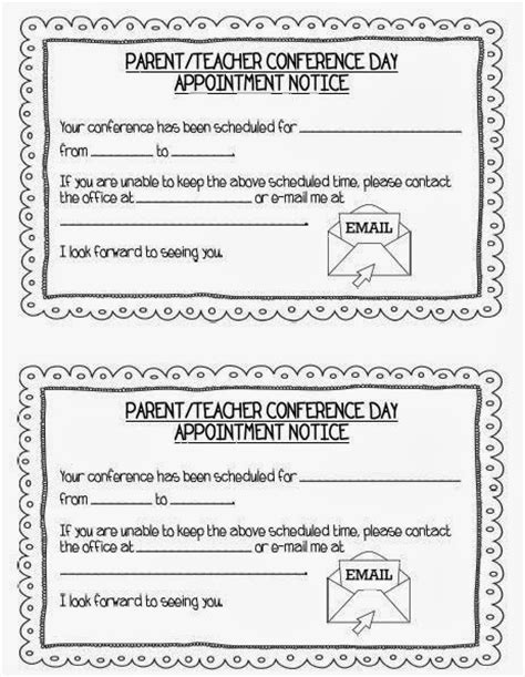 parent teacher conference letters teaching with terhune ready for parent teacher conferences