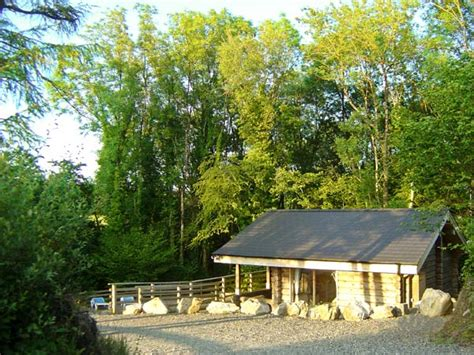 Log Cabin Holidays In Wales Pets Welcome by Trees In Amroth This Detached Log Cabin Is