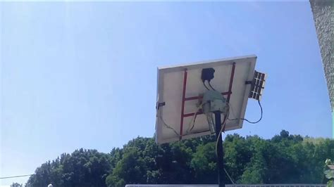 time lapse of tracking solar panel time lapse of solar panel tracking the sun
