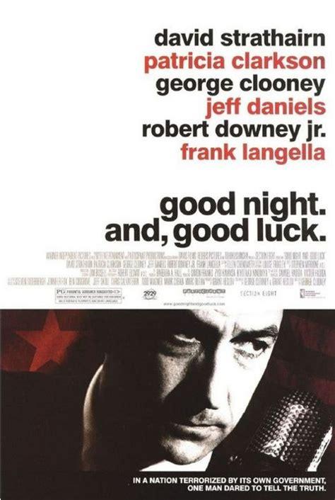 Good Night Good Luck 2005 Good Night And Good Luck 2005 Film Filmfan Pl