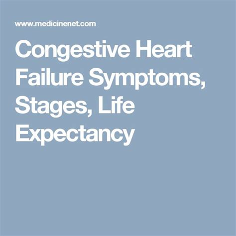 congestive failure expectancy 25 best ideas about chf symptoms on failure symptoms failure