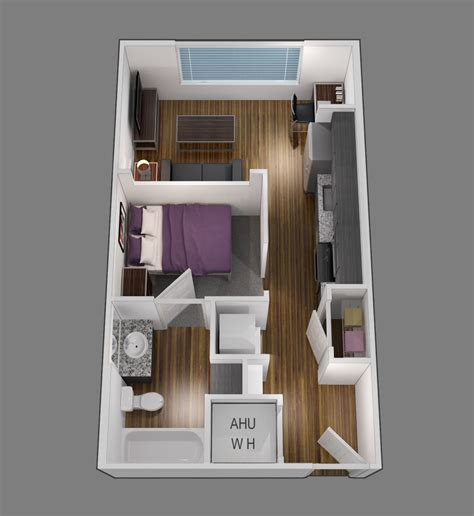 one bedroom apartments in baton