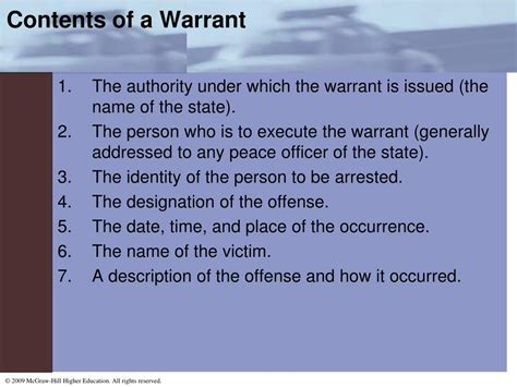Search Warrant Define Ppt Chapter 2 Powerpoint Presentation Id 656437