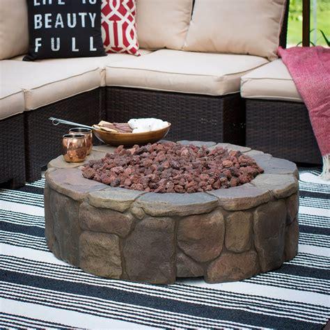 backyard  patio fire pit ideas  types