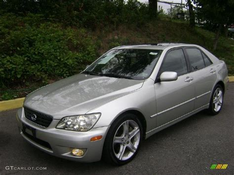 lexus metallic 2002 millennium silver metallic lexus is 300 35222106