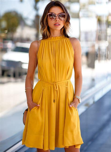 solid color dresses fashion solid color sleeveless dress novashe