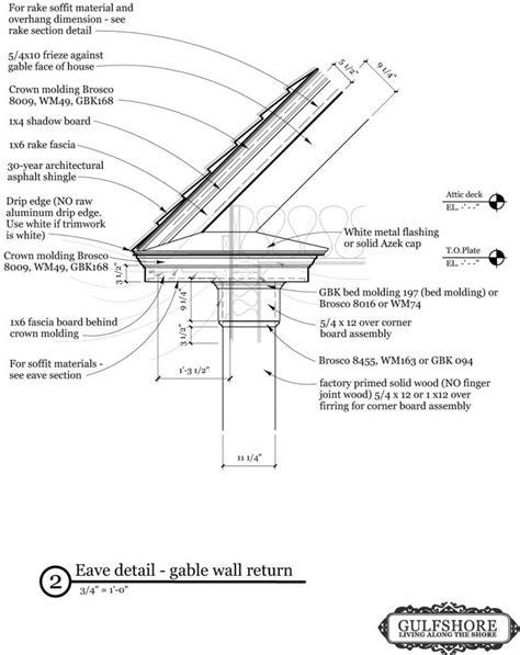 traufgesims detail drip edge details no aluminum drip edge i