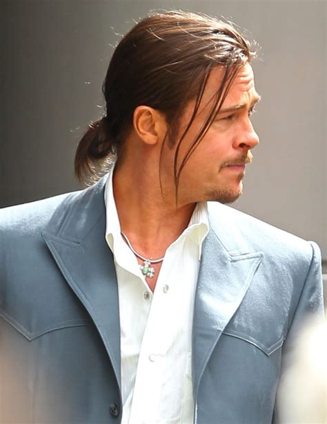 Mens Ponytails In A Suit | men celebrity ponytail hairstyles 2016 men s hairstyles