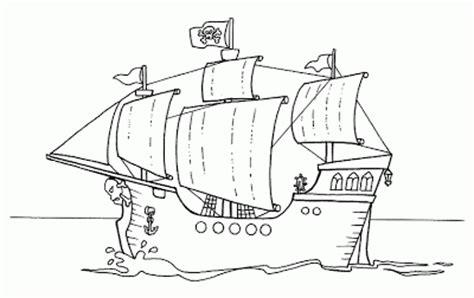 barco para dibujar blog megadiverso barcos piratas para descargar y colorear