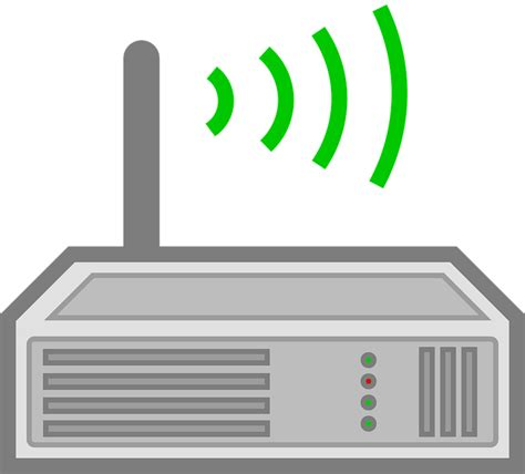 Router Nirkabel komputer jaringan router 183 free vector graphic on pixabay