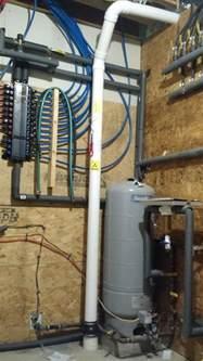 radon gas basement radon system in basement