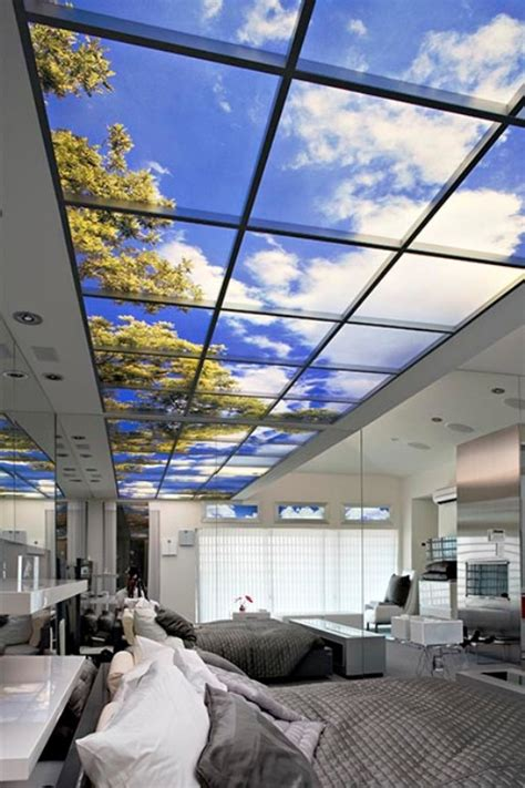 glass ceiling bedroom this is how to get a view in a room with no windows