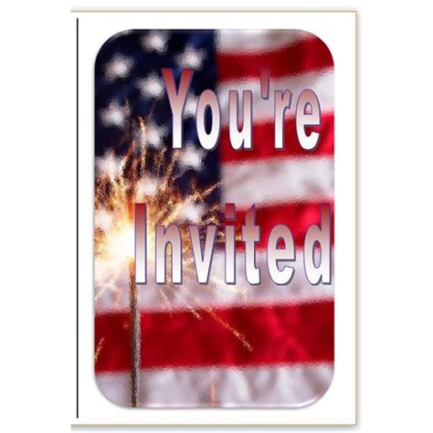 patriotic invitation templates free 10 patriotic templates for ms word for july 4th