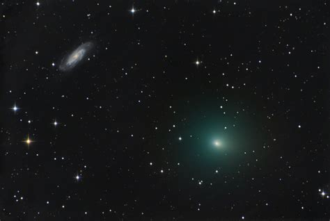 comet 41p comet 41p and ngc 3198 comet watch