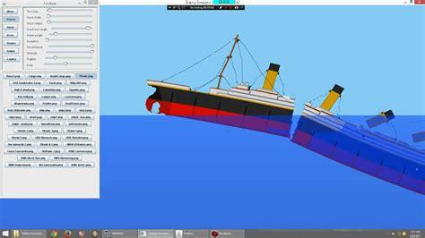 Sinking Ship Simulator Free by Sink The Titanic Sinking Simulator 2