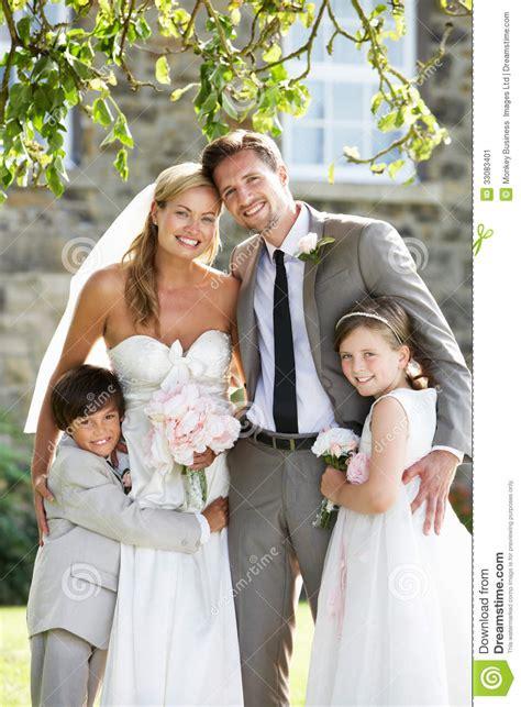 bride  groom  bridesmaid  page boy  wedding