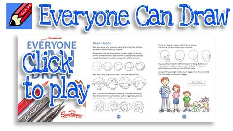 everyone can learn to everyone can draw learn to draw the easy way youtube