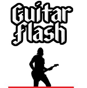 cara bermain guitar flash drd guitar flash