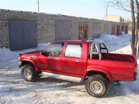 Toyota 1994 Up 1994 Toyota Hilux Up Pictures