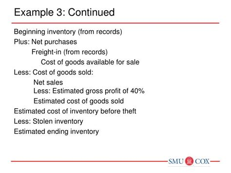 Chapter 9 Inventories Additional Valuation Issues Outline by Ppt Chapter 9 Inventories Additional Valuation Issues Sommers Intermediate I Powerpoint