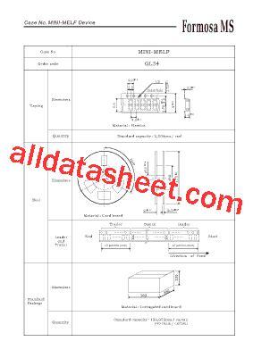 mini melf resistor datasheet mini melf datasheet pdf formosa ms