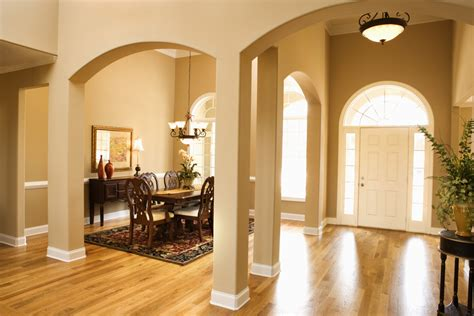 Dining Room Front Entry Foyer Brisk Living