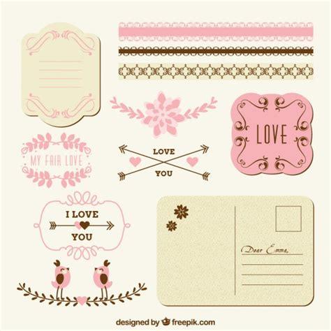 imagenes de amor y amistad para decorar decoraci 243 n de amor para correo descargar vectores gratis