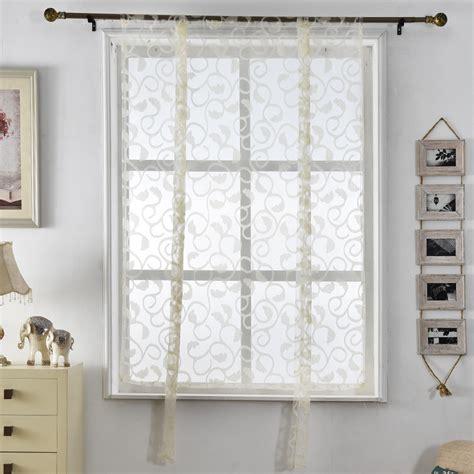 online get cheap white kitchen curtains aliexpress com