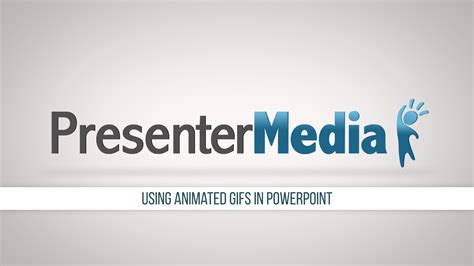 animation clipart using animated gifs in powerpoint presentermedia