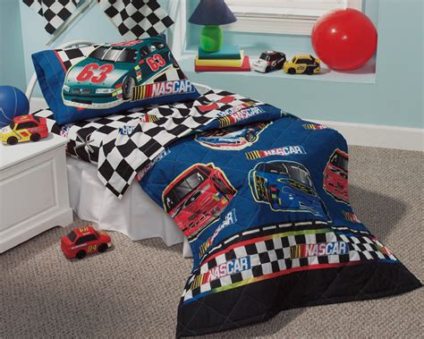 nascar bedding nascar checkered flag comforter toddler size boys