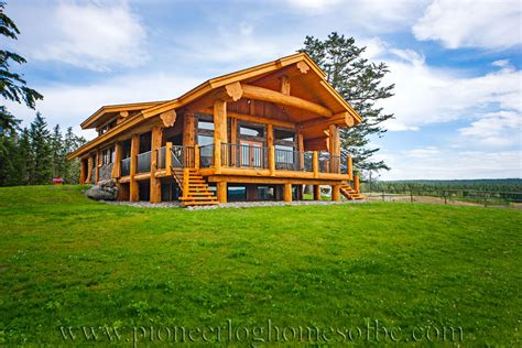 log post and beam home plans and designs pioneer log