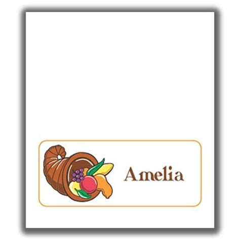 Thanksgiving Ace Cards Templates by Thanksgiving Place Card Templates